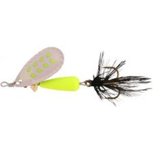 Abu Garcia blyskáč droppen fluo chart s black feather-8 g