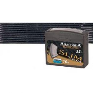 Anaconda pletená šnúra  Slim Skin 10 m Black-Nosnosť 35lb
