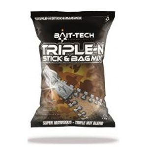 Bait-Tech Zmes Kŕmenia Triple-N Stick & Bag Mix 1 kg