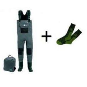 Behr Prsačky neoprenové Platin-Innovation 5mm  + ponožky COOL MAX zdarma-Veľkosť 40/41