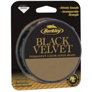 Berkley Spletaná šnúra Black Velvet 110 m black-Priemer 0,25mm / Nosnosť 25,8kg