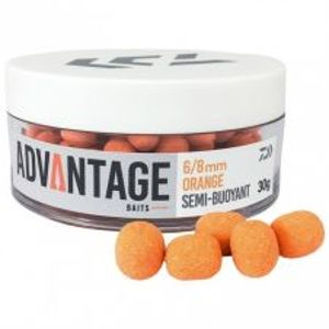 Daiwa Semi Buoyant Hookbait Orange Chocolate 30 g-8-10 mm