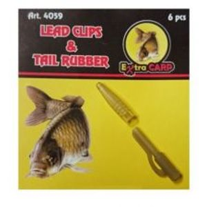 Extra Carp Lead Clips & Tail Rubber