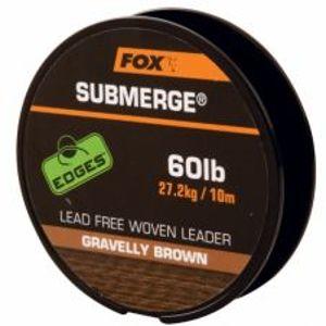 Fox Submerge Lead Free Leader Brown 10 m-Priemer 60 lb / Nosnosť 27,2 kg