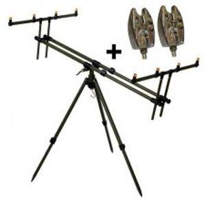 Giants Fishing Stojan Tripod Army 4 Rods + 2x hlásič zadarmo
