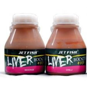 Jet Fish liver booster + dip 250 ml-Brusinka