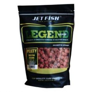 Jet Fish Pelety Legend Range 4 mm 1 kg-ananas n-butyric acid