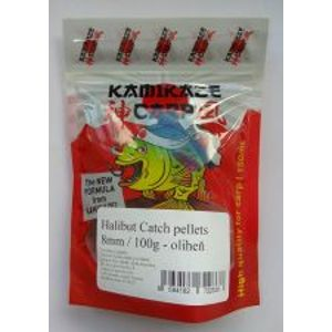 Kamikaze Carp Pelety Halibut Catch Pellets 8 mm 100 g-Cesnak