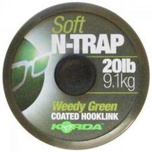 Korda Nadväzcová Šnúrka N-Trap Soft Green 20 m-Priemer 30 lb / Nosnosť 13,6 kg