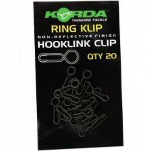 Korda Rýchlo Karabínka Ring Klip 20 ks