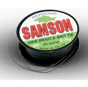 Kryston Nadväzcová Šnúrka Samson Green 25 m-Nosnosť 6 lb