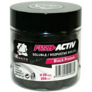 LK Baits Boilie Fish Activ 250 ml 20 mm-spice shrimp