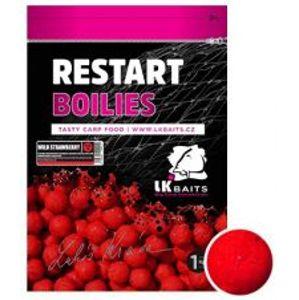 LK Baits Boilie ReStart Wild Strawberry-1 kg 18 mm