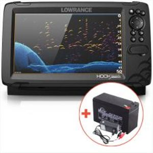 Lowrance Echolot Hook Reveal 9 So Sondou HDI 50/200 KHZ