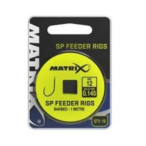 Matrix Nadväzec SP Feeder Rigs 1 m 10 ks-Veľkosť Háčika 10