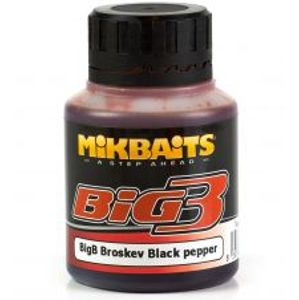 Mikbaits dip Legends 125 ml-bigb broskyňa black pepper