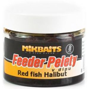 Mikbaits Pelety Feeder V Dipe 50 ml-red fish halibut