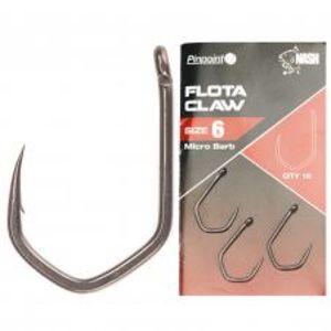 Nash Háčiky Pinpoint Flota Claw Micro Barbed 10 ks-Veľkosť 10