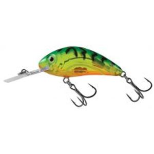 Salmo Wobler Rattlin Hornet Clear Floating Clear Hot Green Tiger-4,5 cm 6 g