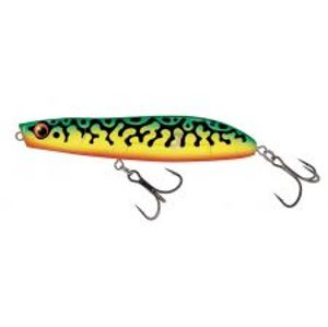 Salmo Wobler Rattlin Stick Floating Clear Green Tiger-11 cm 21 g
