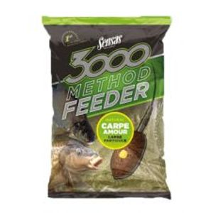Sensas Kŕmenie 3000 Method Feeder 1 kg-carpe pellets