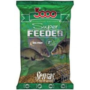 Sensas Kŕmenie 3000 Super Feeder New 1 kg-rieka