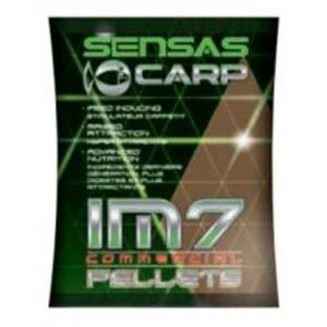 Sensas Pelety IM7 Extrudes Black Squid 700 g-6 mm