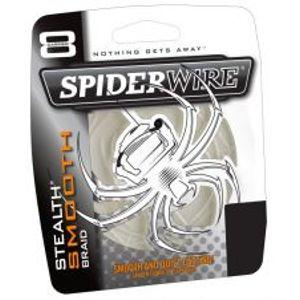 Spiderwire Splietaná šnúra Stealth Smooth 8 priehľadná-Priemer 0,08 mm / Nosnosť 7,3 kg / Návin 1 m