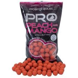 Starbaits Boilies Probiotic Peach Mango + N-Butyric-2,5 kg 20 mm